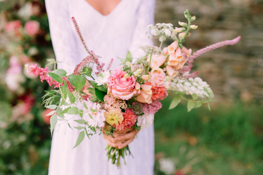 Bouquet mariée Les Fleurs d'Estelle Guidel